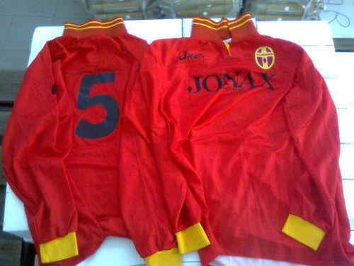 Nr 14 maglie maglia rosse messina taglia XL asics