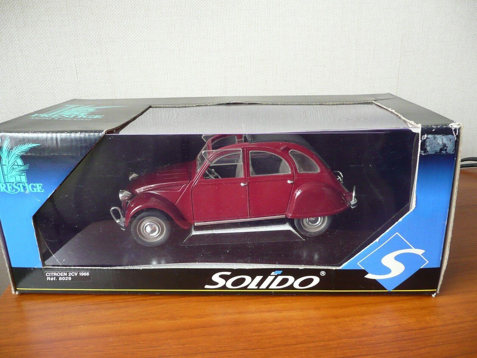 SOLIDO PRESTIGE 1966 CITROEN 2CV - 1 18