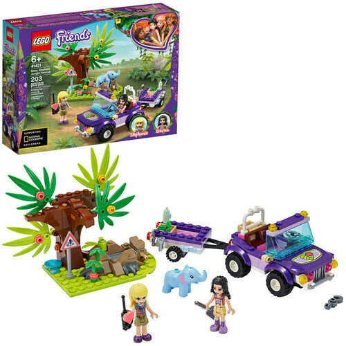 New Toy LEGO® Friends Baby Elephant Jungle Rescue 41421 Brick