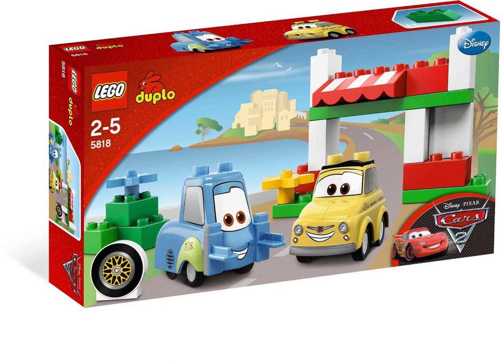 LEGO® DUPLO® 5818 Cars Unterwegs mit Luigi und  NEU  Luigi's Italian Place BNISB