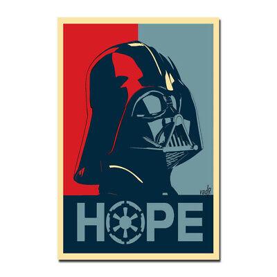 Darth Vader Star Wars Classic Movie Silk Vintage Art Silk Poster 12x18 24x36