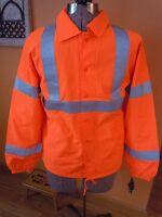 Lk Mens Auburn Safety Net Ansi Class 3 Level 2 Safety Jacket Reflective M