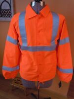 Lk Mens Auburn Safety Net Ansi Class 3 Level 2 Safety Jacket Reflective M