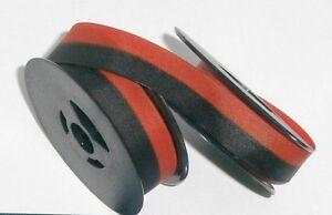 Halda Standard Typewriter Ribbon - Black and Red Ink