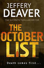The October List by Jeffery Deaver (Hardback, 2013)