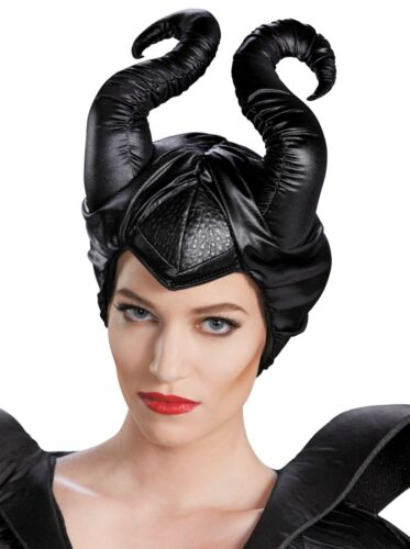 Disney Maleficent Horns Deluxe Headpiece Adult Costume Accessory Fast Ship