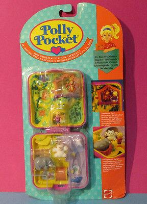 Acquista A Buon Mercato Polly Pocket Mini Nuovo ♥ Zoo World ♥ Con Polly U. 3 Ape ♥ 1989 ♥ Ovp ♥ New-mostra Il Titolo Originale