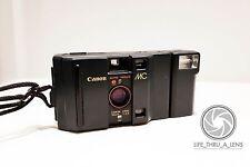 Canon MC 35mm Compact Film Camera with flash lomo retro