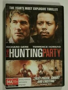 The-Hunting-Party-DVD-Feat-Richard-Gere-Terrence-Howard-GOOD-CONDITION