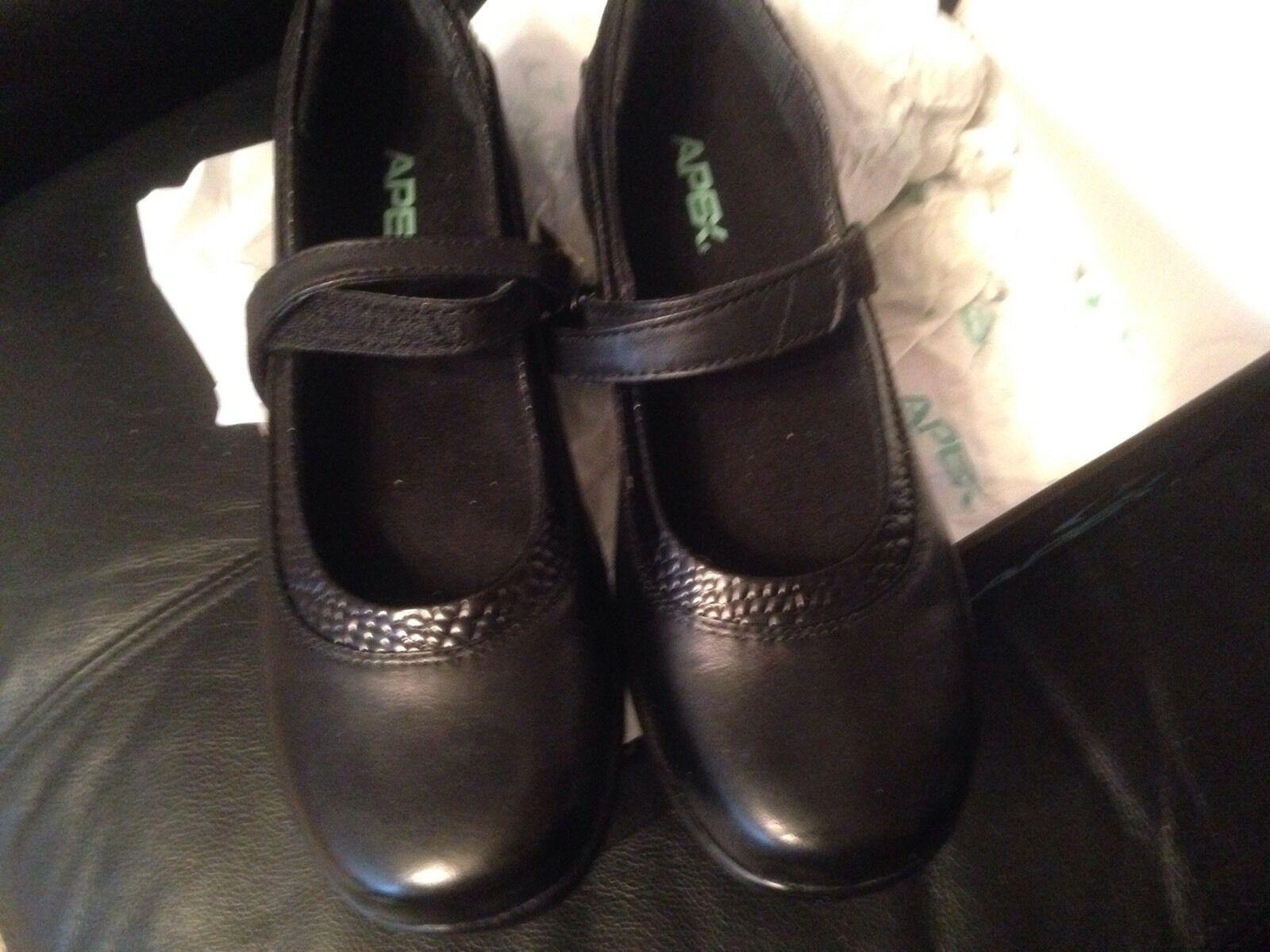 Nuevo Apex Julia para Mujer Negro zapatos estilo Mary Jane, 7.5 N, M