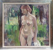 Julius Heß Akt Erotik Münchener Secession Glaspalast Expressionismus Kirchner