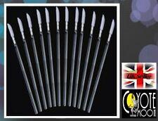 25 x Disposable Lip brushes Wands gloss Applicator Brush Makeup Tool UK
