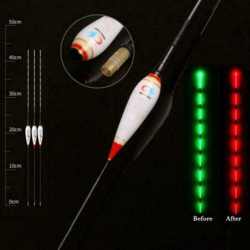 Smart Fishing Float LED Fishing Bobber Night Light Bite Hook Luminous Glowing