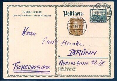 Begeistert Deutsches Reich Ganzsache Michel: P210 Gestempelt -1067
