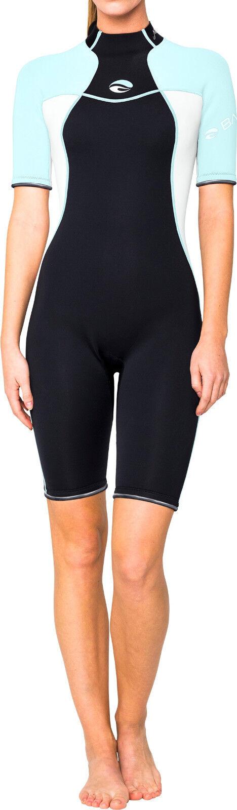 Bare 2mm Nixie Shorty Scuba Diving Wetsuit Women's blueee