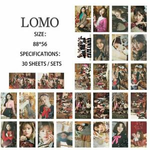 30pcs-Kpop-TWICE-YES-OR-YES-Paper-Lomo-Photo-Card-Sana-Collective-Photocard-Fine
