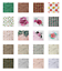 thumbnail 3 - Ambesonne-Leaves-Forest-Decorative-Satin-Napkins-Set-of-4-Party-Dinner-Fabric