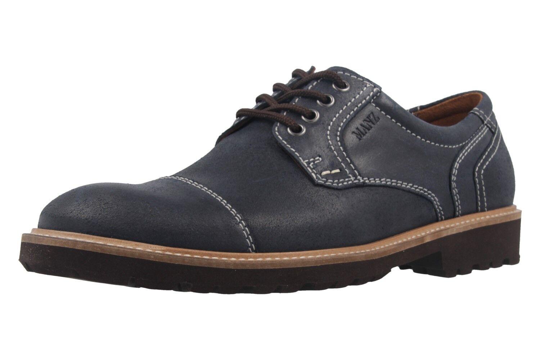Allfinanz Business Chaussure dans Grandes Tailles Grandes Chaussures Hommes bleu XXL