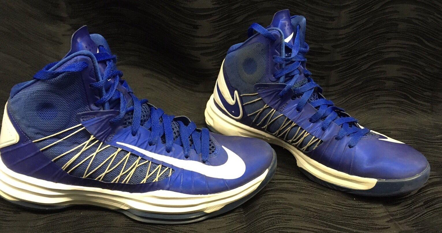 Nike Hyperdunk Tb Game Royal Blue White 524882 402 Mens Size 9.5 Basketball