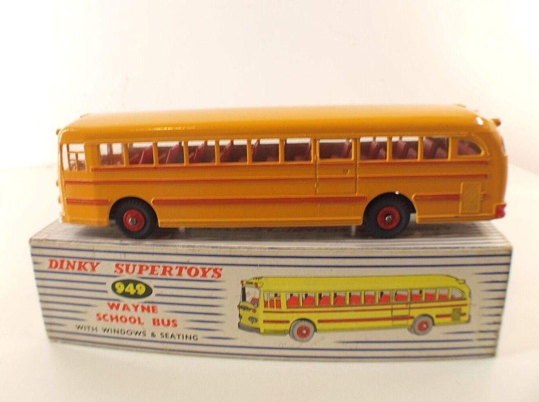 Joyeux noel Dinky Toys Gb 949 949 949 Wayne School bus scolaire en boite | Une Grande Variété De Modèles  836ee3