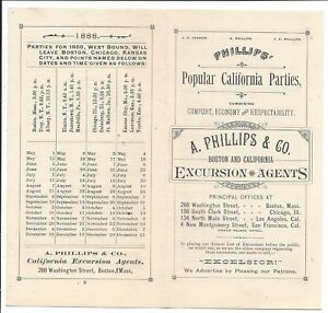 3-Fold-Brochure-1888-California-Excursions-Conducted-by-Phillips-amp-Co-Boston