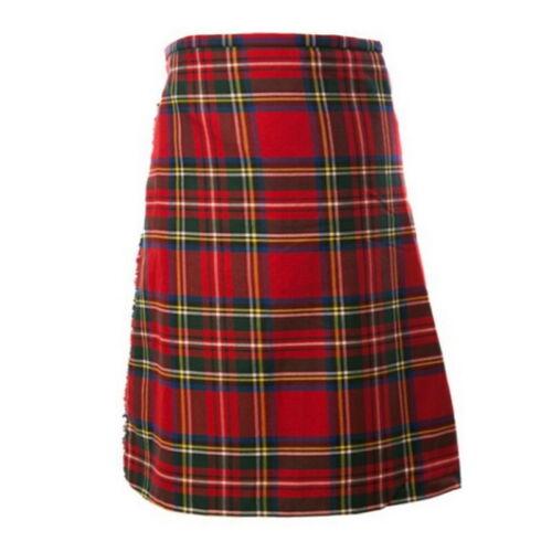 Men/'s Kilt Scottish Traditional Skirt Plaid National Vintage Shorts Wedding Wear