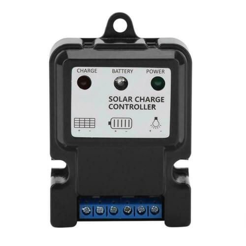 Contrôleur de charge de régulateur de batterie de panneau solaire PWM 10A 5S6V //