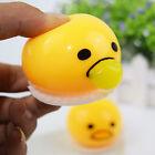 Funny Gudetama Vomiting Egg Tricky Toy Yolk Halloween Back Shocker Joke Toy Hot
