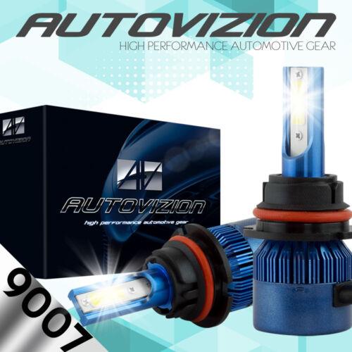 CREE HB5 9007 488W 48800LM LED HEADLIGHT Kit HI-LO BEAM 6500K BULBS VS 9007 HID