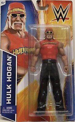 WWE MATTEL WWF HULK HOGAN Basic Signature Series Wrestling Action Figure