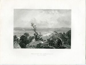 USA-Valley-Of-The-Connecticut-Engraving-By-R-Brandard