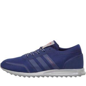 RRP 69.99 Adidas Originals Los Angeles Scarpe da ginnastica Navy Blu Scuro Grigio sz6 sz7