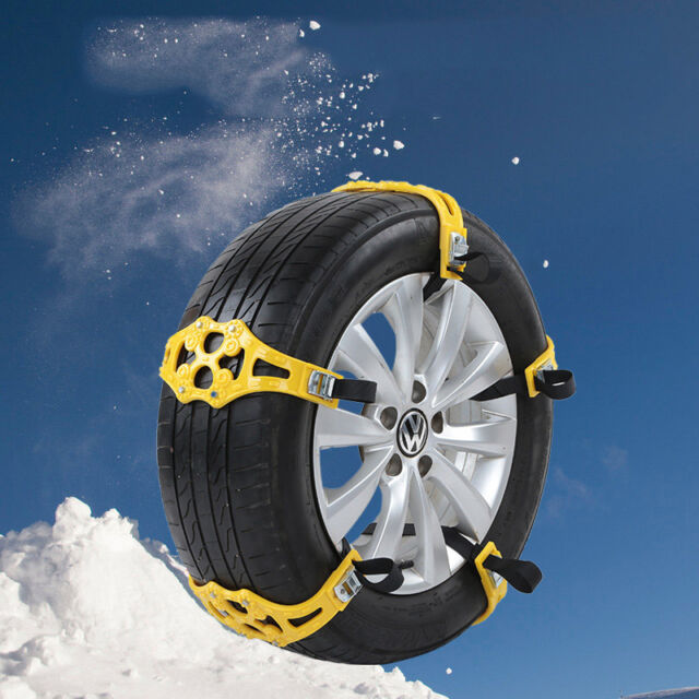 Car Snow Tire Anti-skid Chains Thickened Beef Tendon Auto Truck Wheel Chains