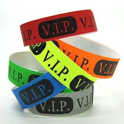 500 Eintrittsbänder Eintrittsbändchen Kontrollarmbänder Einlassbänder VIP Bänder