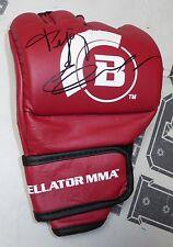 Fedor Emelianenko Signed Official Red Bellator MMA Fight Glove BAS COA Autograph