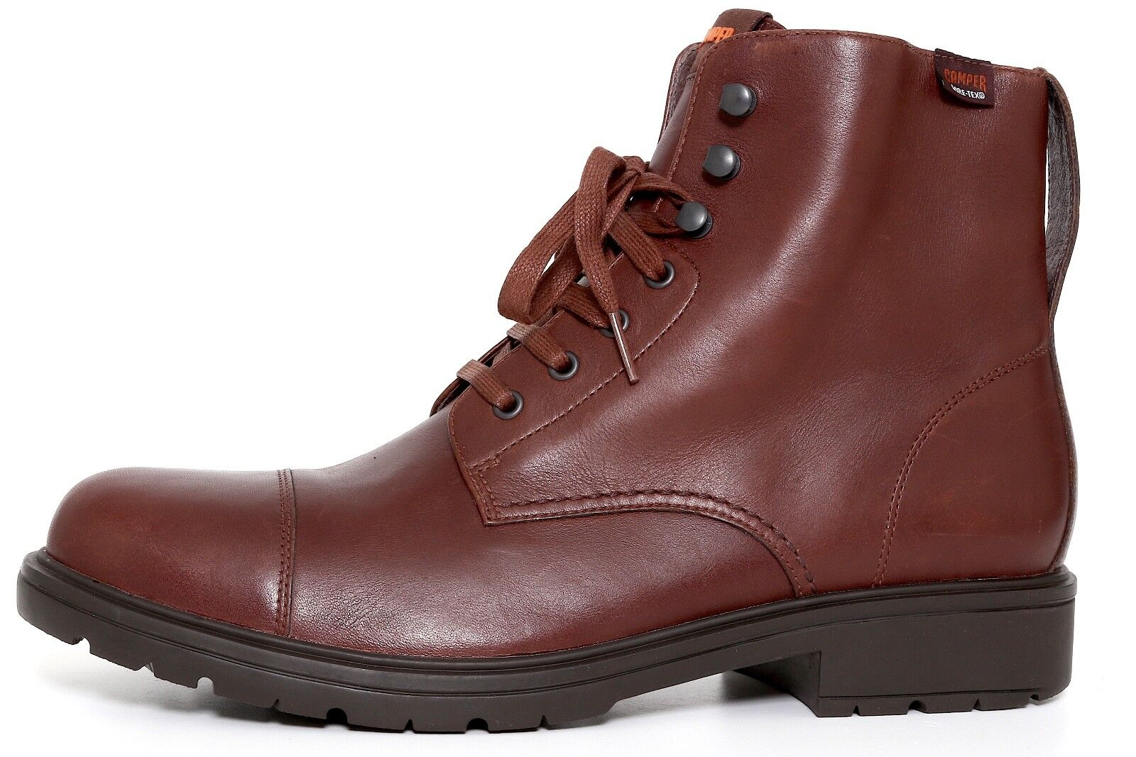 Camper Men's Brown Leather Boots 9011 Size 43 EUR NEW
