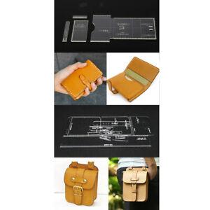 13pcs-trasparente-acrilico-modello-borsa-borsa-modello-stencil-in-pelle