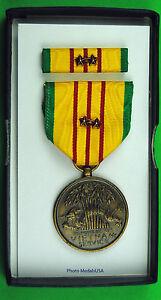 Original-Vietnam-War-GI-Issue-Service-Medal-set-2-Bronze-Campaign-Stars-ML