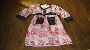 NWOT NEW ASHOR'S ROOM 3 3T FLORAL DRESS PINK