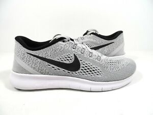 b76bfc32c6440 Nike Men s Free Rn 2017 Running Shoes Wolf Grey Dark Grey-Pure ...