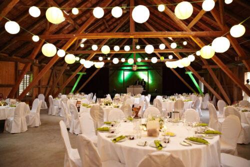 Lichterkette Bausatz Illu Party Biergarten E27 IP44 30m mit 60 Fassungen sw
