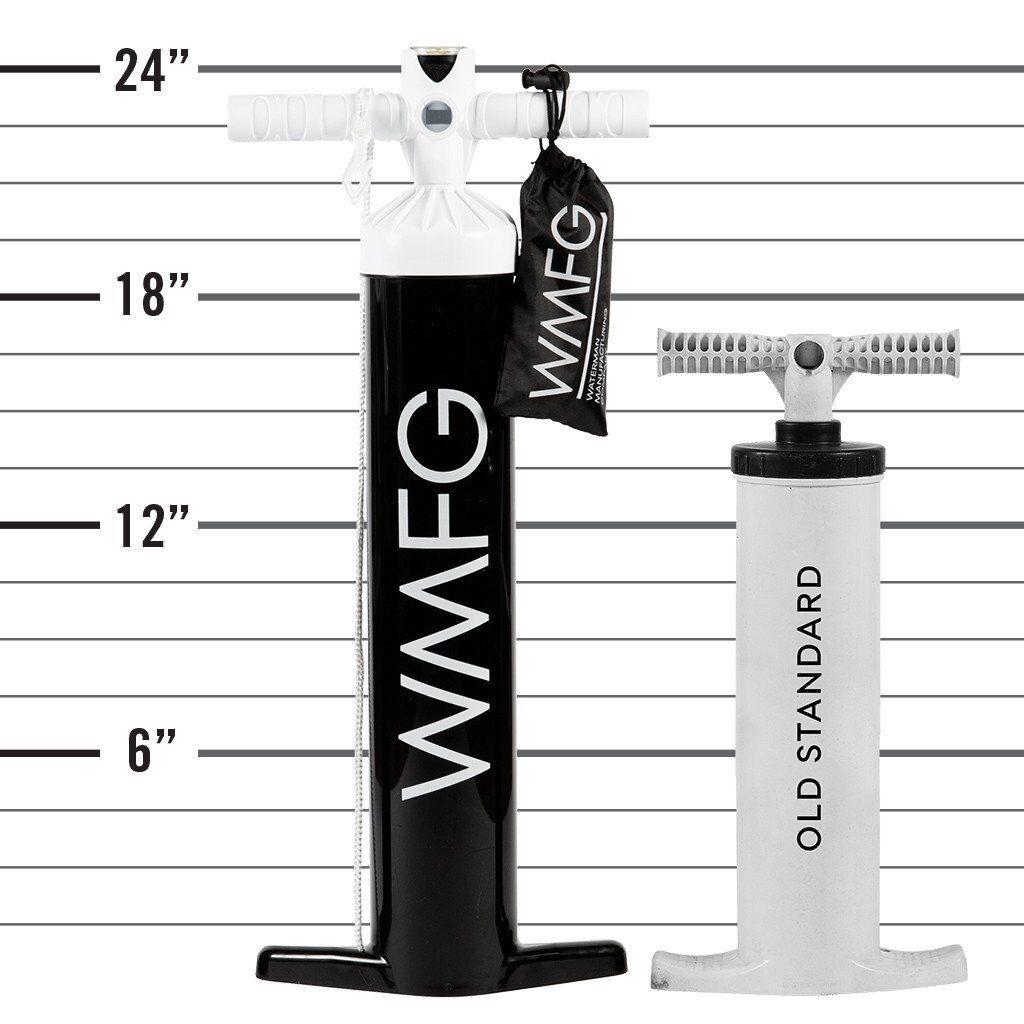 WMFG Mystic Slingshot LF Extra Tall Kiteboard Pump med hög volym