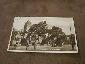 Real-photographic-Postcard-Royal-Infirmary-Hospital-Cardiff