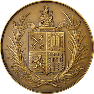 France French Third Republic Sciences & Technologies Medal #66189