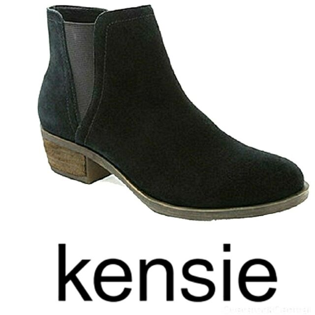 Womens Garry Suede Zip Ankle BOOTS