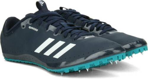 ADIDAS SPRINTSTAR 2 SPRINTER TRACK SPIKES AF5598 MEN SIZE 12 NAVY BLUE