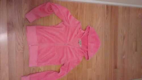 Women's pink Juicy Couture Velour Jacket