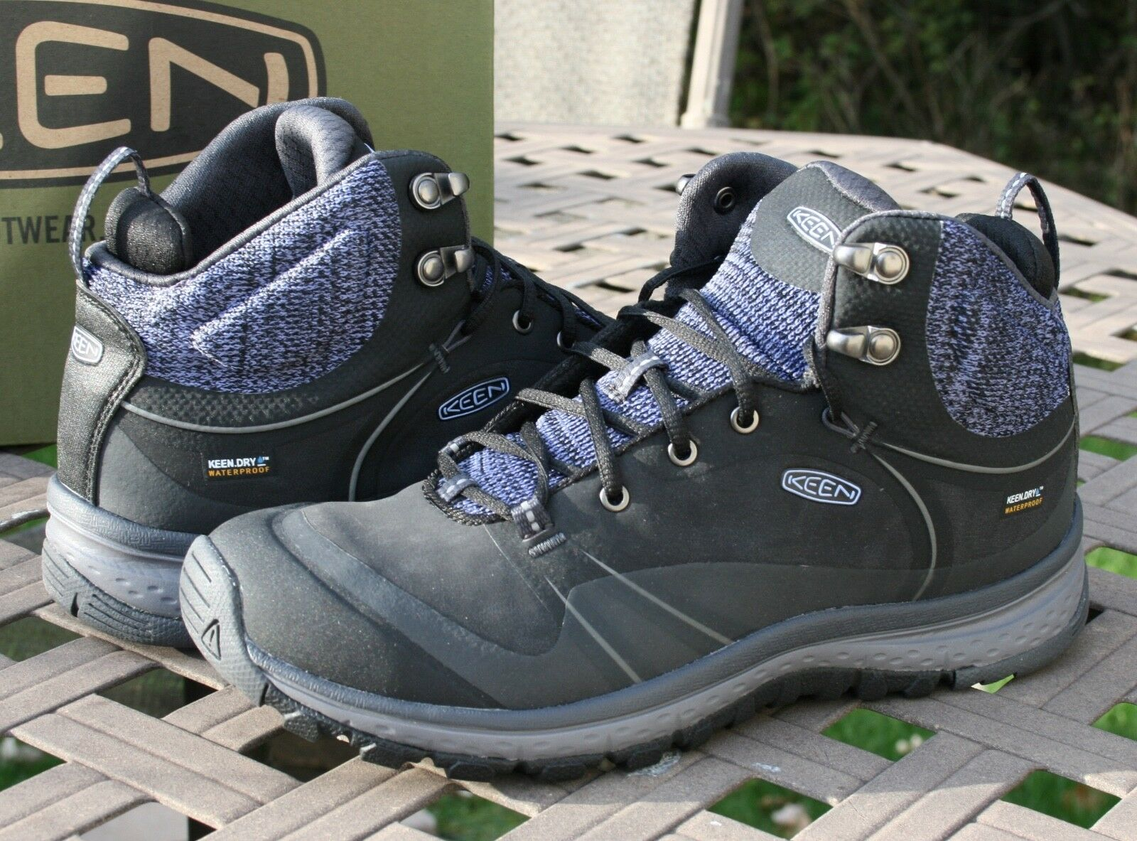 KEEN TERRADORA PULSE MID WP US 8.5 Woman's Hiking Trail Boot