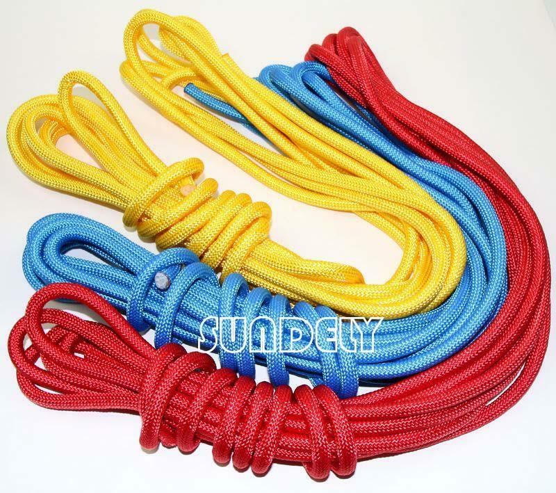 UK Quality Braided polypropylene poly rope sailing boat camping 6 8 10mm SUNDELY