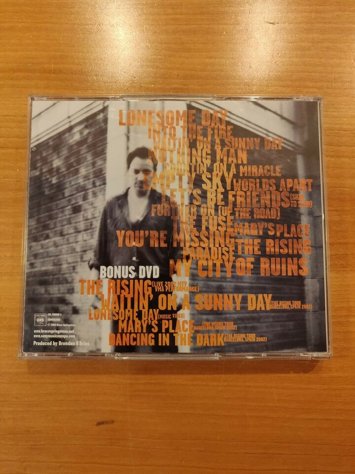 Bruce Springsteen: The Rising (Tour Edition With Bonus
